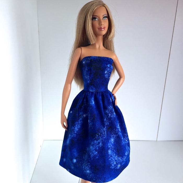 Charlotte in blue